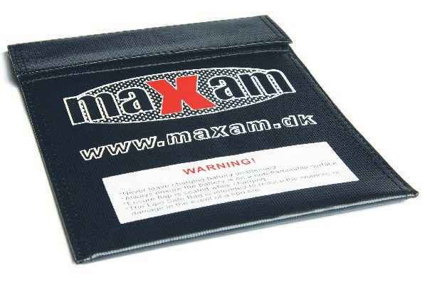 Maxam Lipo Safe Bag - Batteripåse - 18x23cm