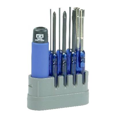 Verktyg - R/C Tool Set 8pcs. - Tamiya Craft Tools