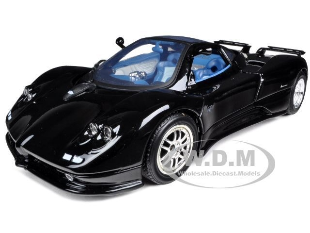 Byggmodell Metall - Pagani Zonda C12 pre pained metal, EASY BUILD - 1:24