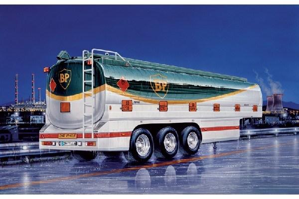 Byggmodell lastbils släp - Heavy tank trailer TOPAS - 1:24 - IT