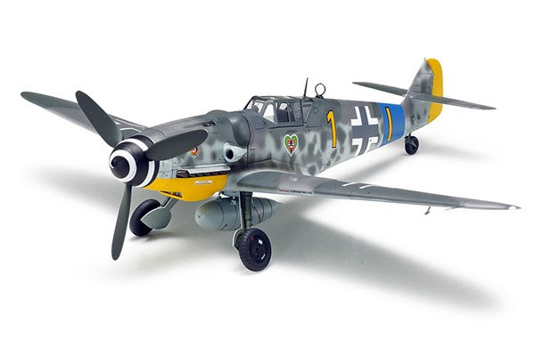 Byggmodell flygplan - Messerschmitt Bf 109 G-6 - 1:48 - Tamiya