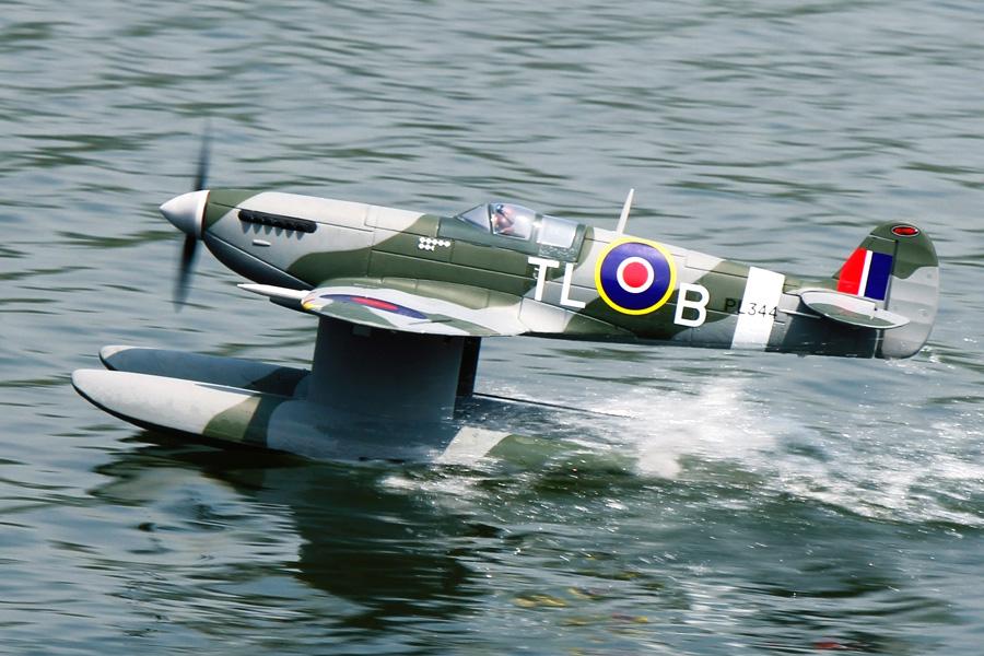 Radiostyrt Flygplan - Supermarine Spitfire MK.VB - 2,4Ghz - SRTF