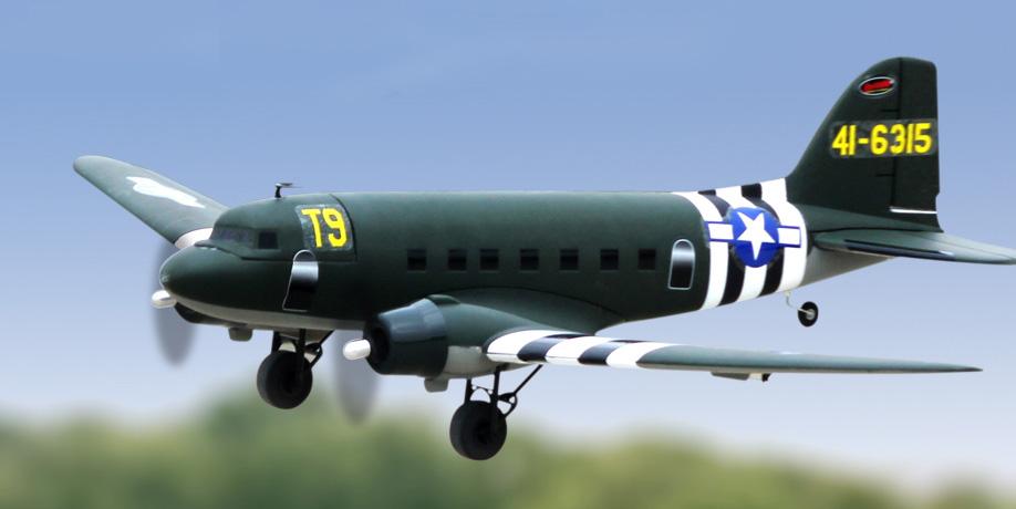 Flygplan - Skytrain BL 1,5m - 2,4Ghz - 4ch - SRTF