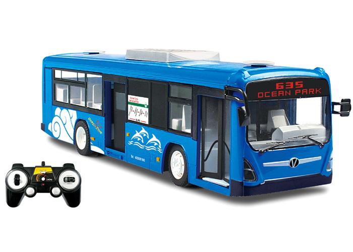 Radiostyrd buss - Blå - 2,4Ghz - RTR