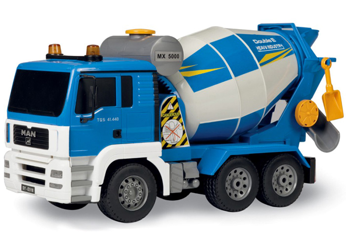 Radioctyrd cementbil - Blå - 1:20 - 2,4Ghz - RTR