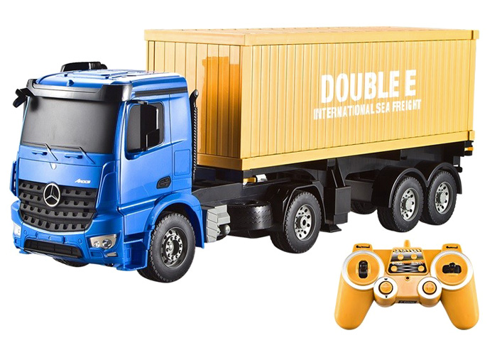 Radiostyrd lastbil - Container lastbil - 2,4Ghz - RTR
