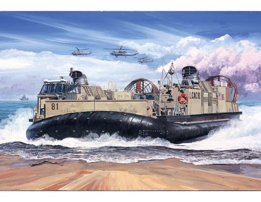 Byggmodell svävare - USMC Landing craft Air cushion LCAC - 1:72 - TR