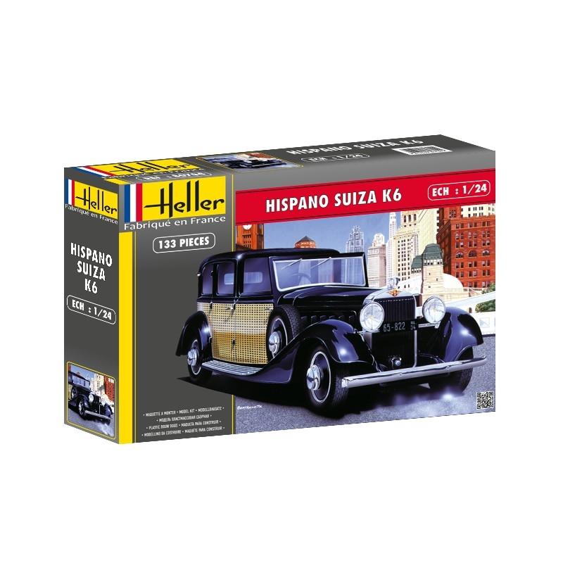 Modell bil - Hispano Suiza K6 - 1:24 - HE