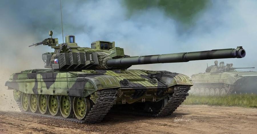 Byggmodell stridsvagn - Czech T-72M4CZ MBT - 1:35 - TR