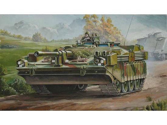 Byggmodell Stridsvagn - Strv 103C MTB SVERIGE - 1:35 - TR