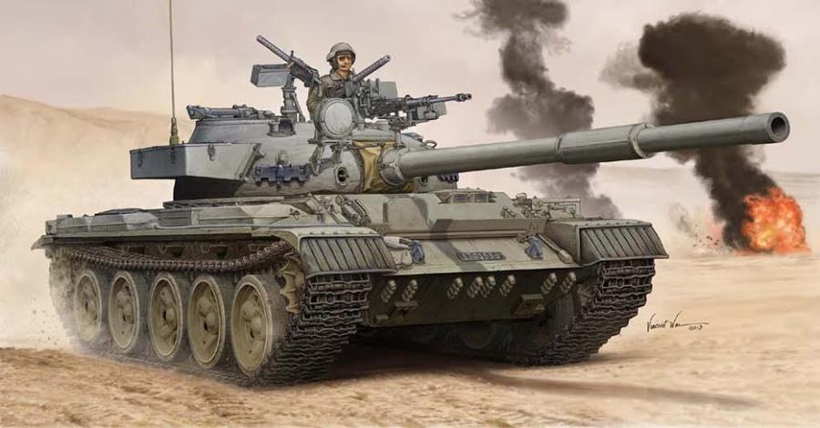 Byggmodell stridsvagn - Israel Tiran-6 MBT - 1:35 - TR