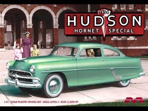 Bil byggmodell - Hudson Hornet Special - 1:25 - Moe