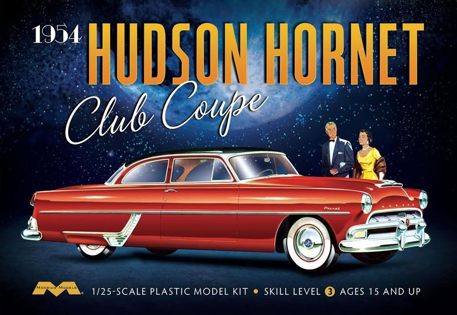Byggmodell bil - 1954 Hudson Hornet Coupe - 1:25 - Moe