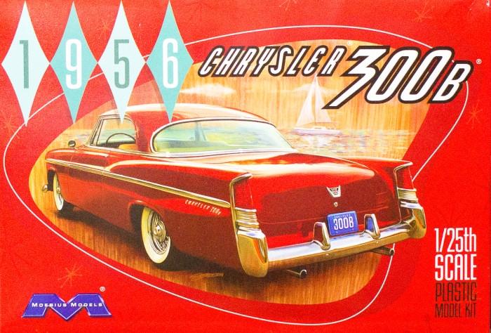 Byggmodell bil - 1956 Chrysler 2008 - 1:25 - Moe