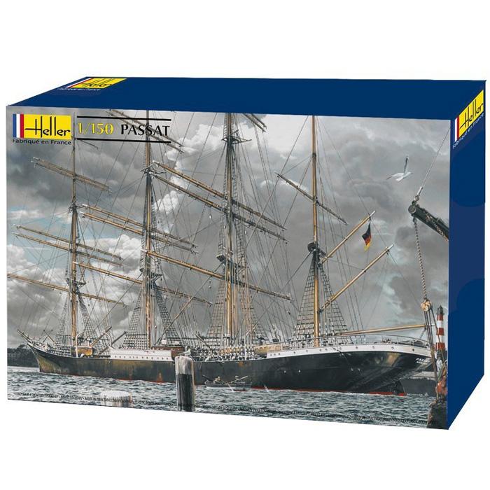 Byggmodell segelfartyg - PASSAT - 1:150 - Heller