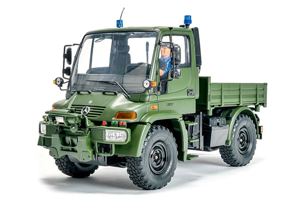 RC lastbil - MB Unimog U300 Military 2,4GHz - 1:12 - Carsson