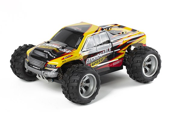 Radiostyrd bil - 1:18 - Monster Fashionable 4wd - 2,4Ghz - RTR