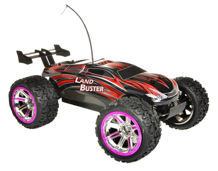 Radiostyrd bil - 1:12 - Land Buster - Red - RTR