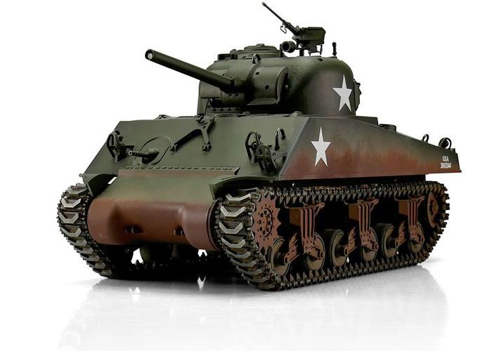 1:16 - M4A3 Sherman 75mm - Torro Pro BB - 2,4Ghz - RTR