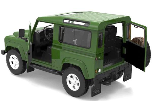 Radiostyrd bil - 1:14 - Land Rover Denfender - RTR