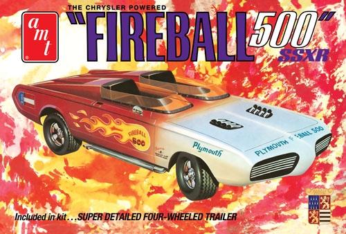 Byggmodell bilar - George Barris Fireball 500?- 1:25 - AMT
