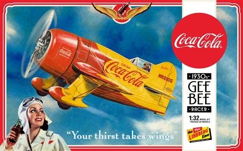 Byggmodell flygplan - Coca Cola Gee Bee Racer - 1:32 - LB