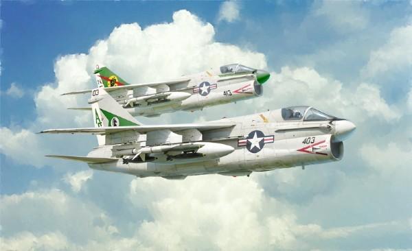Byggmodell flygplan - A-7E Corsair II - 1:72 - IT
