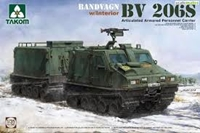 Byggmodell Bandvagn - BV 206S Articulated Armored Personnel Carrier - 1:35 - TK
