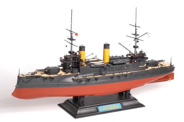 Byggmodell krigsfartyg - Borodino Battle Cruise - 1:350 - Zv