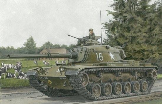Byggmodell stridsvagn - M60 Patton - 1:35 - Dr
