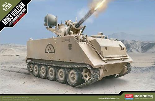 Byggmodell stridsvagn - U.S.ARMY M163 Vulcan - 1:35 - Ac