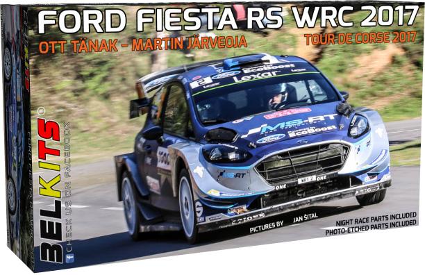 Byggmodeller - Bilar - Ford Fiesta RS WRC 2017 - Bk
