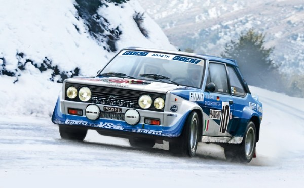 Byggmodell bil - Fiat 131 Abarth Rally - 1:24 - IT