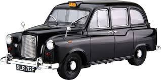 Byggmodell bil - London Black Cab 68 FX4 - 1:24 - Ao