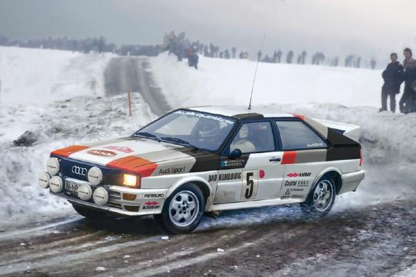 Byggmodell bil - Audi Quattro Rally - 1:24 - IT