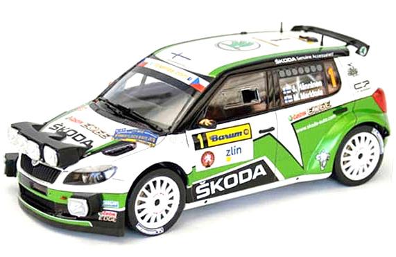 Byggmodell bil - Skoda Fabia S2000 - 1:24 - Bk