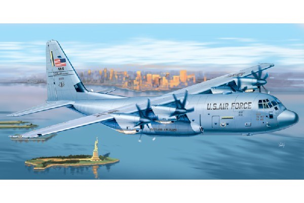 Byggmodell flygplan - C-130 J Hercules PRM Edition - 1:72 - IT