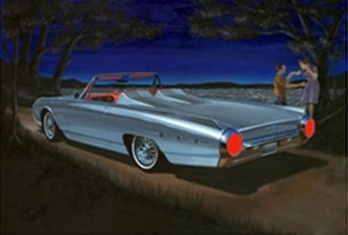 Byggmodell bil - Chevy Bel Air 1951 - 1:25 - AMT