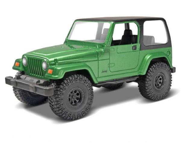 Byggmodel bil - Jeep Wrangler Rubicon - SNAP - 1:25