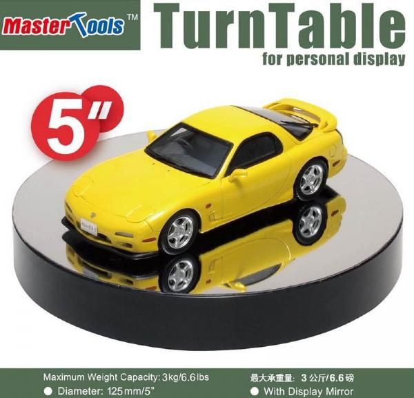 Byggmodell verktyg - Turntable Mirror Plated 125mm - MT