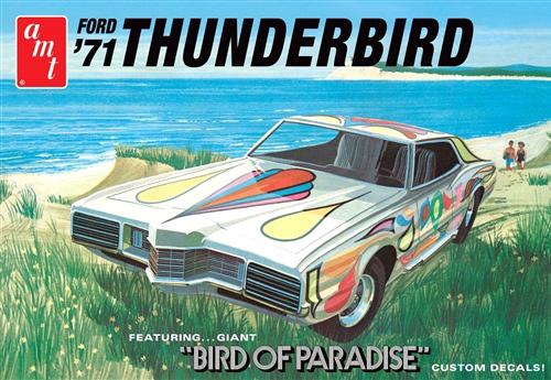 Byggmodell bil - 1971 Ford Thunderbird - 1:25 - AMT