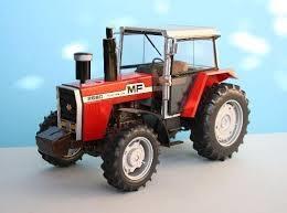 Traktor - Massey Ferguson 2680 - 1:24 - Heller