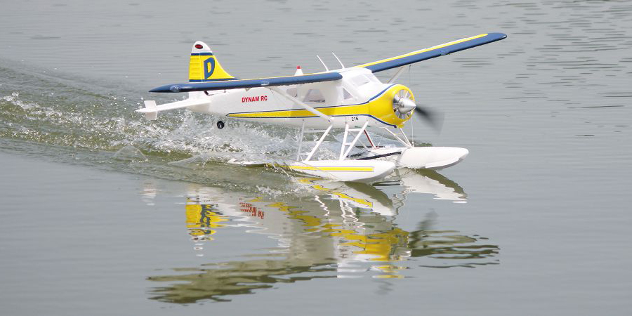 Flygplan - Beaver DHC-2 BL 1,5m - 2,4Ghz - 6ch - SRTF