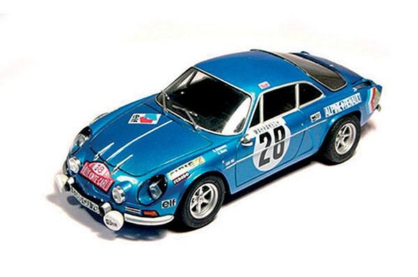 Byggmodell bil Alpine A110 Monte-Carlo 71 - 1:24 - Tamiya