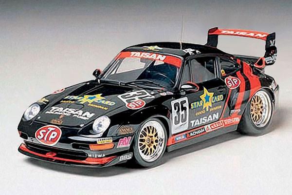 Byggmodell bil - Taisan Porsche 911 GT2 - 1:24 - Tamyia