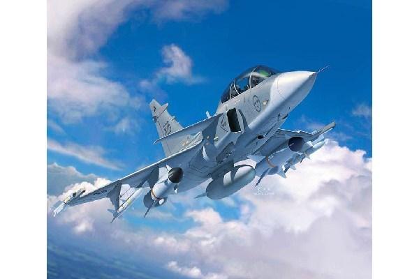 Byggmodell flygplan - Saab JAS-39D Gripen TwinSeater - 1:72 - Revell