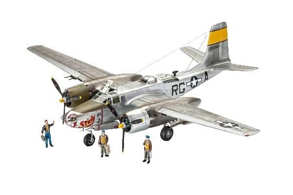 Byggmodell flygplan - A-26B Invader - 1:48 - Revell