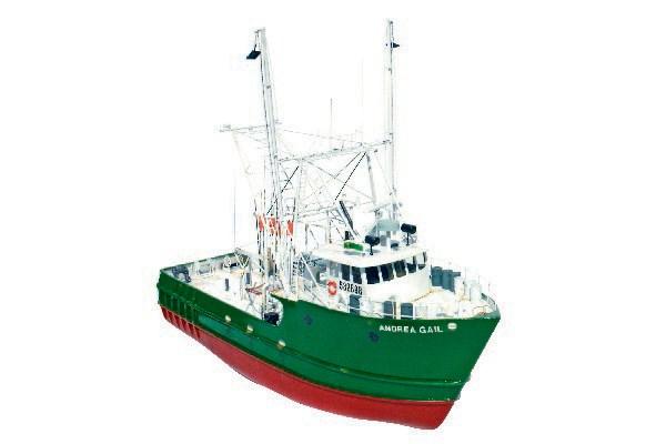 Byggmodell båt - Andrea Gail - Wooden hull - 1:60  - Billing Boats