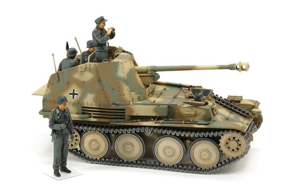 Byggmodell stridsfordon - German Tank Destroyer Marder III M Normandy - 1:35  - Tamiya