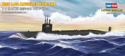 Byggmodell ubåt - SSN-688 USS Navy Los Angeles - 1:700 - HobbyBoss
